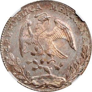 Mexico 1886 Mo Mh 8 Reales Coinfactswiki