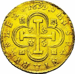 Spain 1699S 8 escudos rev JElsen 111-1128.jpg