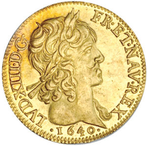 France 1640 A Louis D Or Coinfactswiki