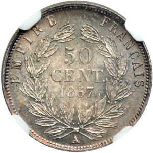 France 1857A 50 centimes rev Goldberg 69-4738.jpg