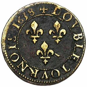 France 1638 2 tournois rev JElsen 105-722.jpg