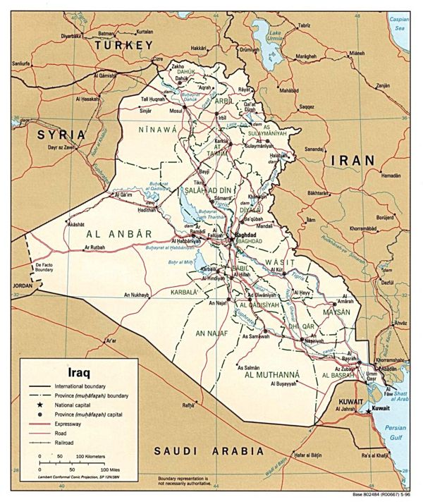 Modern-day Iraq - www.lib.utexas.edu