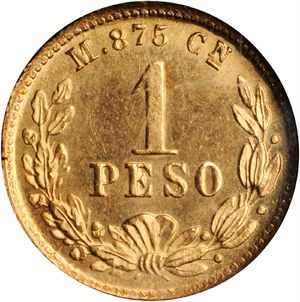 Mexico 1897-Cn M peso - CoinFactsWiki