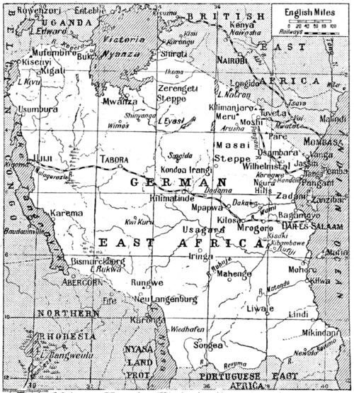 German East Africa in 1922 - Probert Encyclopedia.com