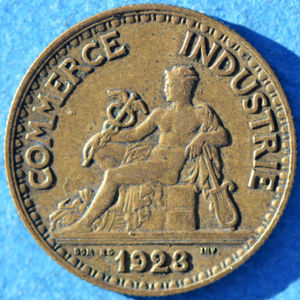 France 1923 50 centimes coinfactswiki for Chambre de commerce de france bon pour 2 francs 1923