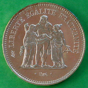 France 1979 50 Francs Coinfactswiki
