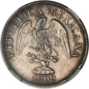Mexico 1899 Go R 20 Centavos Coinfactswiki