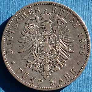 Bavaria 1875D 5 mark rev DC.jpg