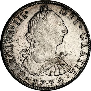 Mexico 1774 Mo Fm 8 Reales Coinfactswiki