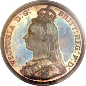Great Britain 1887 Crown Coinfactswiki