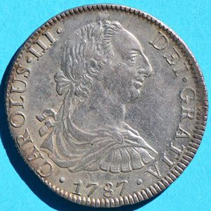 Mexico 1787 Mo Fm 8 Reales Coinfactswiki