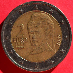 austria 2002 2 euro coinfactswiki. Black Bedroom Furniture Sets. Home Design Ideas