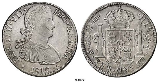 Mexico 1810 Mo Th 8 Reales Coinfactswiki