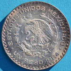 Mexico 1964 peso - CoinFactsWiki