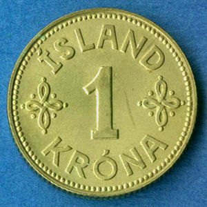 Iceland 1940 Krona Coinfactswiki
