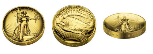 The 2009 Ultra High Relief Double Eagle Gold Coin