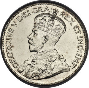 Canada 1929 25 Cents Coinfactswiki
