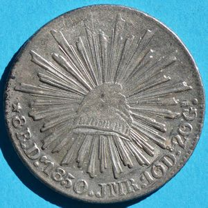 Mexico 1850 Do Jmr 8 Reales Coinfactswiki