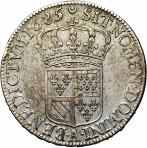 France 1685A demi-ecu rev JElsen 118-1122.jpg