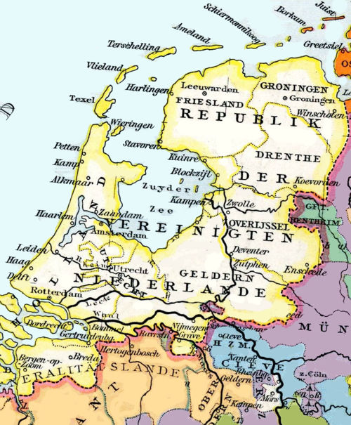 the Netherlands in 1648