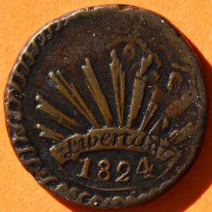 Durango 1824 D 1 8 Real Coinfactswiki