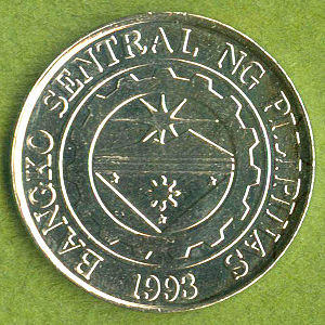 Philippines 2004 1 Piso Coinfactswiki
