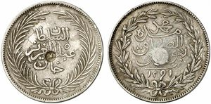 TUN 1291 4riyal-cs1295 kunker-lot646-13Dec2011-EUR80.jpg