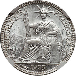 French Indochina 1929 A 10 Cents Coinfactswiki
