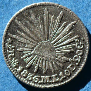 Mexico 1836 Mo Ml 1 2 Real Coinfactswiki